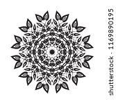 beautiful vector circular...   Shutterstock .eps vector #1169890195