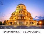 alexander nevsky cathedral in... | Shutterstock . vector #1169920048