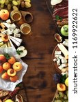 appetizers table for wine with...   Shutterstock . vector #1169922622