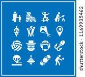 leisure icon. 16 leisure vector ... | Shutterstock .eps vector #1169935462