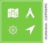 navigation icon. 4 navigation...   Shutterstock .eps vector #1169936992