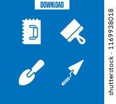 finishing icon. 4 finishing...   Shutterstock .eps vector #1169938018