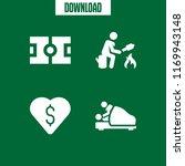 leisure icon. 4 leisure vector... | Shutterstock .eps vector #1169943148