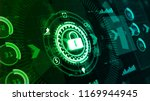 hi tech digital display... | Shutterstock . vector #1169944945