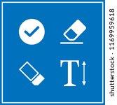 correct icon. 4 correct vector...   Shutterstock .eps vector #1169959618