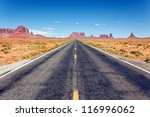 Road To The Monument Valley ...