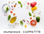 the ingredients for homemade... | Shutterstock . vector #1169967778