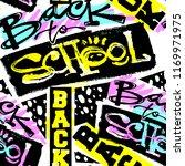 back school seamless pattern... | Shutterstock .eps vector #1169971975
