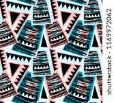 seamless brushpen doodle... | Shutterstock .eps vector #1169972062