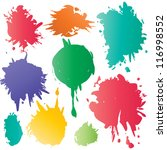 color spots | Shutterstock .eps vector #116998552