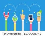 steam integrated education... | Shutterstock .eps vector #1170000742