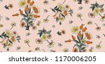 seamless floral pattern in... | Shutterstock .eps vector #1170006205