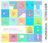 heart tales volume 1  vector...   Shutterstock .eps vector #1170011608