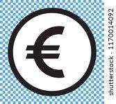 euro symbol  euro icon. money...   Shutterstock .eps vector #1170014092