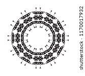 beautiful vector circular... | Shutterstock .eps vector #1170017932