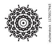 beautiful vector circular... | Shutterstock .eps vector #1170017965