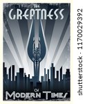 the greatness of modern times.... | Shutterstock .eps vector #1170029392