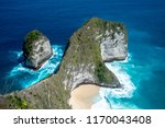 top view of karang dawa bay ... | Shutterstock . vector #1170043408