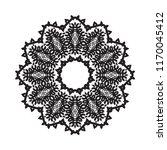 beautiful vector circular... | Shutterstock .eps vector #1170045412