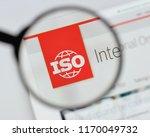 milan  italy   august 20  2018  ... | Shutterstock . vector #1170049732