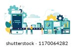 vector illustration  a... | Shutterstock .eps vector #1170064282