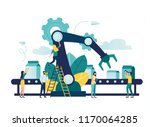 vector illustration  a... | Shutterstock .eps vector #1170064285