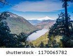 tinquilco lake and villarica... | Shutterstock . vector #1170065782