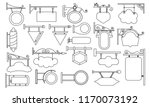 vector illustration set of... | Shutterstock .eps vector #1170073192