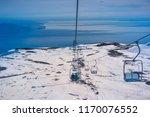 view from osorno volcano  chile. | Shutterstock . vector #1170076552