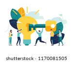 vector illustration  creative... | Shutterstock .eps vector #1170081505