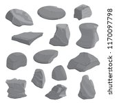 rocks and stones illustration... | Shutterstock .eps vector #1170097798