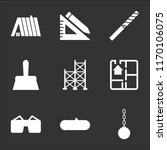 9 simple transparent vector... | Shutterstock .eps vector #1170106075