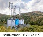 mobile transmitter stations... | Shutterstock . vector #1170135415