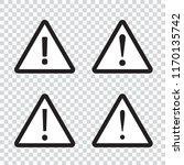 danger icon  warning icon | Shutterstock .eps vector #1170135742
