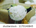 pieces of refined sugar in a...   Shutterstock . vector #1170140845