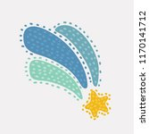 vector cartoon illustration of... | Shutterstock .eps vector #1170141712