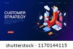 customer strategy  customer... | Shutterstock .eps vector #1170144115