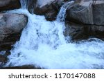 Smooth Water Over Waterfalls In ...