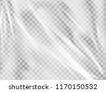 realistic plastic wrap texture .... | Shutterstock .eps vector #1170150532