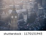 Aerial View Of Big Ben And...