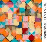 seamless pattern patchwork... | Shutterstock . vector #1170172348