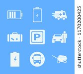 Transportation Vector Icons Set....