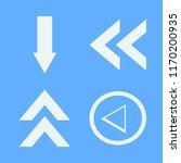 direction vector icons set....   Shutterstock .eps vector #1170200935