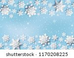 abstract christmas background... | Shutterstock .eps vector #1170208225