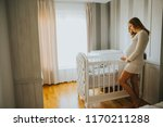 Wiew At Pregnant Woman Setting...