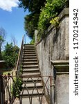 old staircase in florence ...   Shutterstock . vector #1170214342