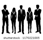 vector silhouettes men and... | Shutterstock .eps vector #1170221005