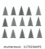 beautiful vector gift greeting... | Shutterstock .eps vector #1170236692