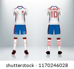 3d realistic of front and back... | Shutterstock .eps vector #1170246028
