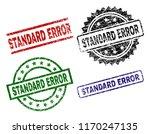 standard error seal prints with ... | Shutterstock .eps vector #1170247135